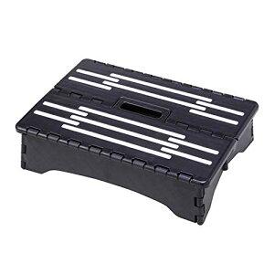 コモライフ 折りたたみ式低踏み台 ステップ コンパクト 省スペース 老人 約40×28×高10cm(折りたたみ厚み5cm) 玄関 ベッド 足が上がり