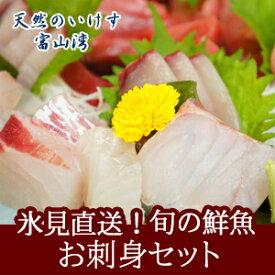 天然のいけす 富山湾氷見漁港 旬の鮮魚 お刺身セット