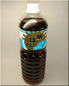 朝日松醤油 薄口 1リットル
