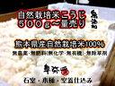 新米・無肥料(無化学・無有機)・無農薬・無除草剤【自然栽培米こうじ500g】・熊本県産の自然栽培米100%使用 無施肥…