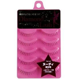 【ネコポス便可】SHO-BI 店頭展示品のつけまつげ ダイヤモンドラッシュ ヌーディeye 5P