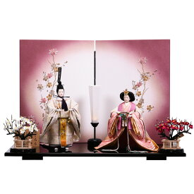 雛人形 立ち雛 平安優香 花ごろも ひな祭り 初節句 かわいい ピンク