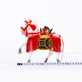 五月節句 男の子 五月人形 脇飾り 6号 奉書馬 京馬飾り 送料無料