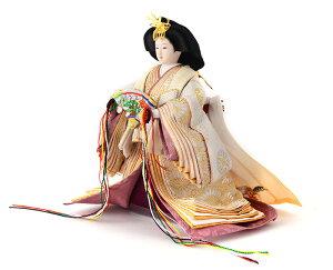 雛人形ひな人形雛人形雛親王飾り雛平飾り立雛雛名匠・逸品飾り花ごろも優香作h263-fzc-44-3302【2019年度新作】