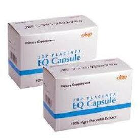 JBPプラセンタEQカプセル 90カプセル 【2箱セット】 馬プラセンタ サプリメント 『ラエンネック』『JBPポーサイン100』の日本生物製剤社