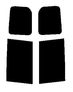 リヤーサイドガラスのみ VOXY ヴォクシー ZRR70G・ZRR75G・ZRR70W・ZZR75W カット済みカーフィルム ハードコート