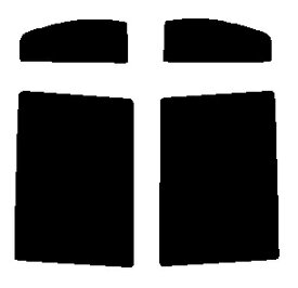 送料無料●リヤーサイドガラスのみ 簡単ハードコート マツダ AZワゴン MJ23S カット済みカーフィルム