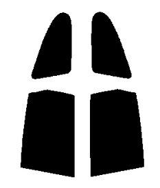送料無料●リヤーサイドガラスのみ 簡単ハードコート ホンダ ストリーム RN1・RN2・RN3・RN4・RN5カット済みカーフィルム