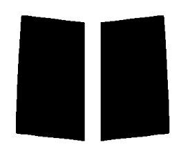 送料無料●リヤーサイドガラスのみ 簡単ハードコート ホンダ フリードスパイク GB3・GB4 カット済みカーフィルム