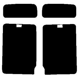 送料無料●リヤーサイドガラスのみ 簡単ハードコート ホンダ モビリオ GB1・GB2カット済みカーフィルム
