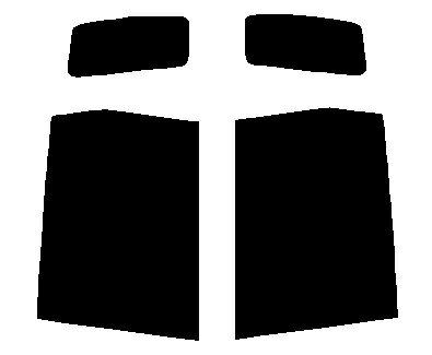 リヤーサイドガラスのみ ホンダ ライフ JC1・JC2カット済みカーフィルム 高透明・断熱フィルム