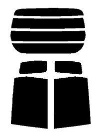 送料無料●極厚フィルム 2層構造フィルム ホンダ ライフ JC1・JC2 カット済みカーフィルム ハードコート リヤーセット 48ミクロン