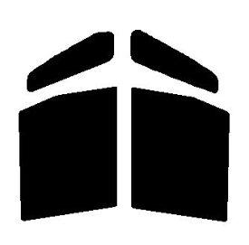 送料無料●GHOST(ゴースト) オーロラ80 運転席・助手席 ホンダ N-BOX JF1・JF2 カット済みカーフィルム ハードコート 代引き注文不可