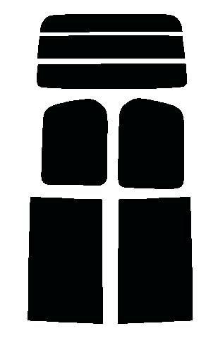 ○送料無料○セレナ C25・NC25・CNC25・CC25カット済みカーフィルム ハードコート リヤーセット