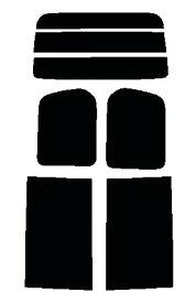 送料無料●セレナ C25・NC25・CNC25・CC25 カット済みカーフィルム ハードコート リヤーセット