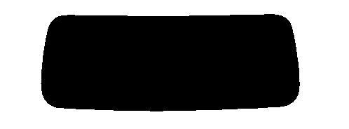 ゼロブラックリヤーガラスのみ 1枚貼り アルファード ANH20W・ANH25W・GGH20W・GGH25W カット済みカーフィルム
