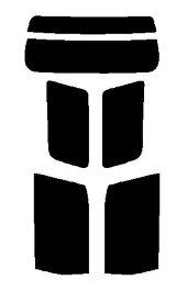 送料無料●アルファード ANH10W・ANH15W・MNH10W・MNH15W・ATH10W・ATH15W カット済みカーフィルム ハードコート リヤーセット