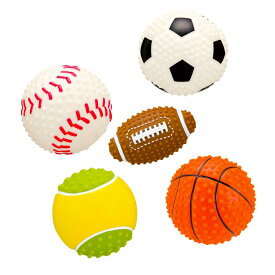 《あす楽》スポーツボール サッカーボール テニスボール ベースボール フットボール バスケットボール (犬 おもちゃ ボール スポーツ)