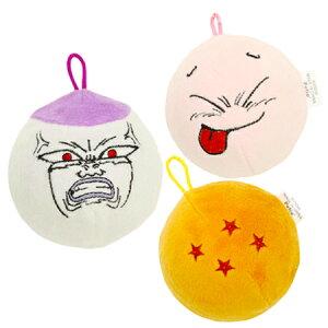 《あす楽》★ドラゴンボール スクイーカーボール★魔人ブウ 四星球 フリーザ (犬 おもちゃ ボール 笛付き)