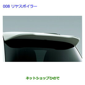 大型送料加算商品 純正部品トヨタ ランドクルーザーリヤスポイラー カッパーブラウンMC純正品番【PZ122-60003-E1】【URJ202W】※008