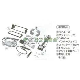 カーAV取付キット A3(アウディ)/GE-AU102