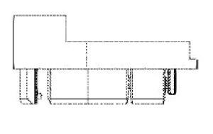 クリナップ スロープ用端部キャップRWY2493R