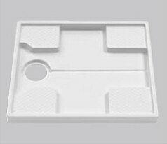 TOTO(トートー)740サイズ洗濯機パン+ABS樹脂製(透明)縦引きトラップ+ジャバラホースユニットPWSP74GH2W