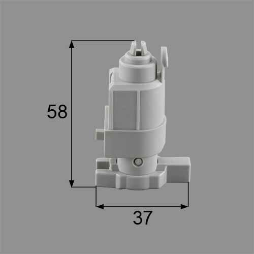 トステム 浴室中折れドア下部ヒンジ可動側セット  DCZZ321