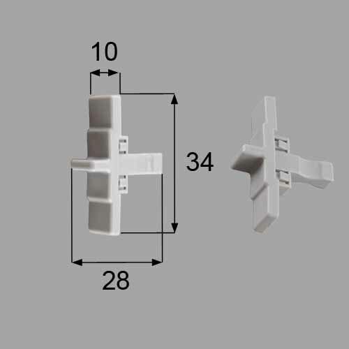 トステム 浴室中折れドア非常救出つまみセット  DCZZ301