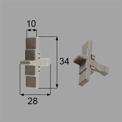 トステム 浴室中折れドア非常救出つまみセット  DCZZ305