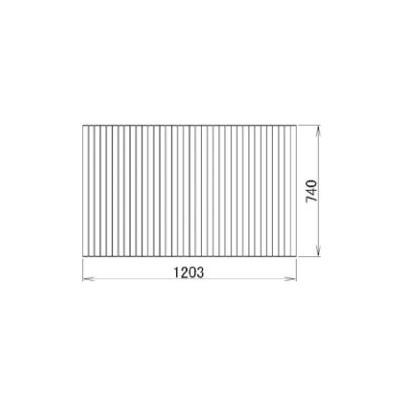 トステム レフィノ 浴槽巻きフタ1300F RMBX026