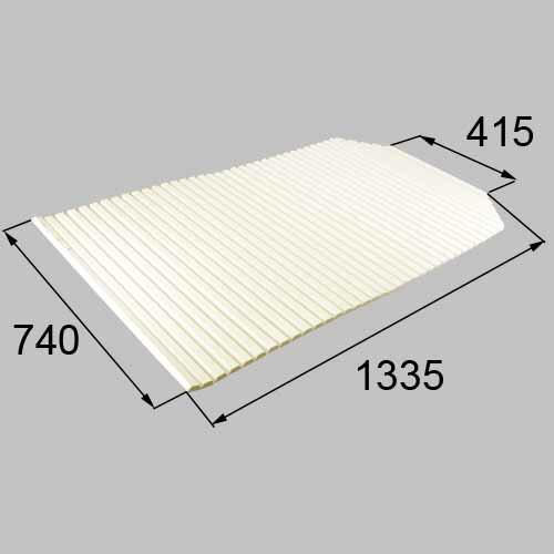 トステム 浴槽巻きフタ(切欠型)  RKFZ101