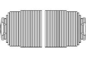NORITZ(ノーリツ) ふろふた(FC1680K-GY/SB) KFFSH01