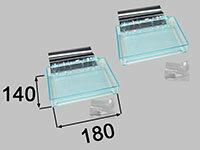 INAX(イナックス) 高級収納棚180W(2段) NT-180A(3)-2S/C03+CH