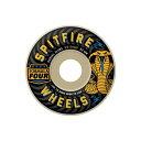 【スピットファイヤー ウィール】SPITFIRE Wheels FORMULA FOUR RADIAL SLIMS SPEED KILLS REG 99DU 51/52/53/54mm●99a
