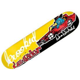 【クルキッド デッキ】KROOKED Deck DREHOBL SK8LOCO LOWRIDER 8.18x31.84●クルックド