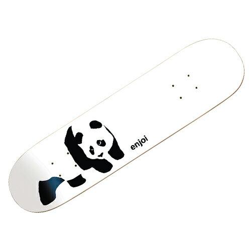 【エンジョイ デッキ】ENJOI Deck R7 PANDA LOGO WHITEY 7.75x31.5