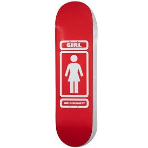 ガール スケートボード デッキ 8.125x31.625 GIRL Deck BENNET 93 TIL
