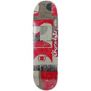 チョコレート スケートボード デッキ 8.5x31.625 CHOCOLATE Deck RED ANDERSON SKIDUL