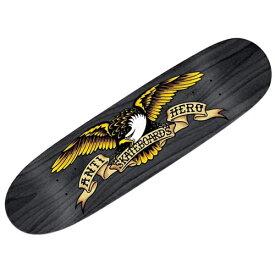 【アンタイヒーロー デッキ】ANTIHERO Deck SHAPED EAGLE OVER SPRAY BLACK WIDOW 8.5x31.7●アンチヒーロー 1002059100