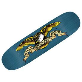 【アンタイヒーロー デッキ】ANTIHERO Deck SHAPED EAGLE OVER SPRAY BLUE MEANIE 8.75x32.55●アンチヒーロー 1002059200
