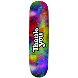 サンキュー デッキ Thank You Skateboards Deck/THANK YOU LOGO COLORBURST 7.875/7.9