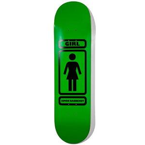 ガール スケートボード デッキ 8.0x31.875 GIRL Deck BANNEROT 93 TIL