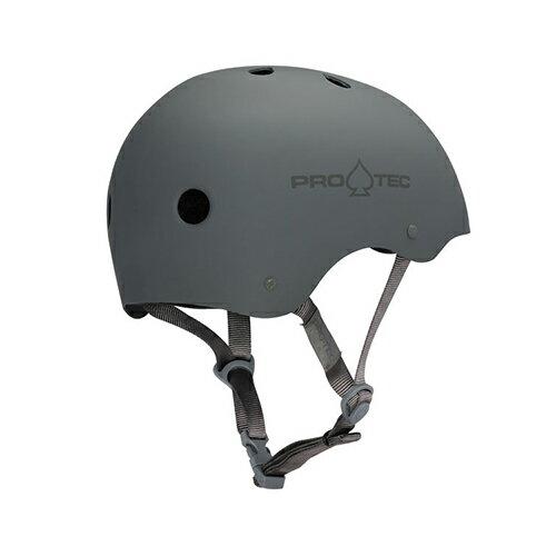 【プロテック ヘルメット】PRO-TEC HELMET CLASSIC RUBBER GRAY S/M/L/XL●プロテクター パッド