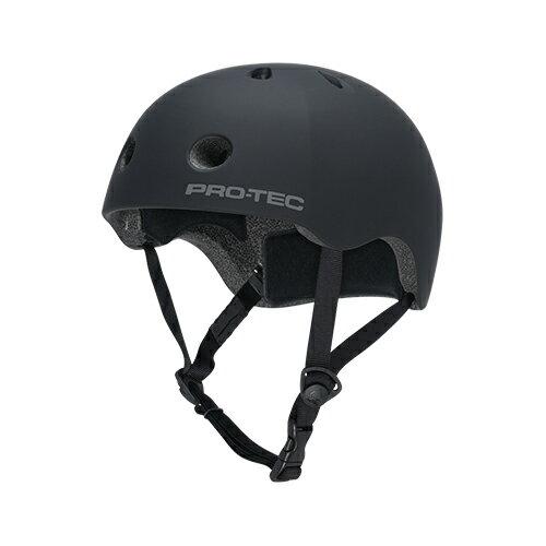 【プロテック ヘルメット】PRO-TEC HELMET STREET LITE RUBBER BLACK S/M/L/XL●プロテクター パッド