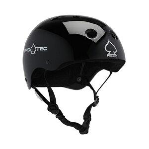 プロテック ヘルメット PRO-TEC HELMET CLASSIC SKATE GLOSS BLACK XS プロテクター パッド/キッズ・ガールズ