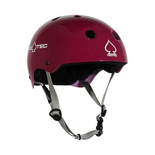【プロテック ヘルメット】PRO-TEC HELMET CLASSIC SKATE GLOSS EGGPLANT XS●プロテクター パッド/キッズ・ガールズ