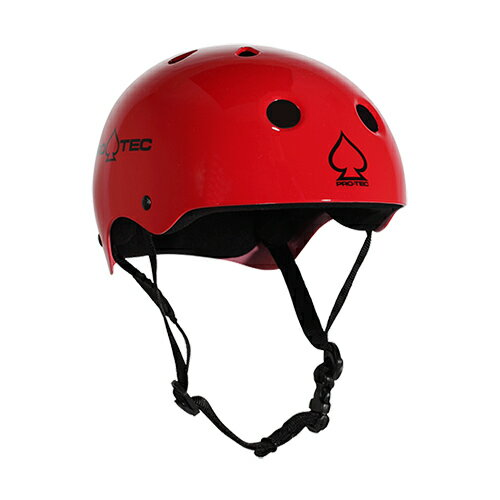 【プロテック ヘルメット】PRO-TEC HELMET CLASSIC SKATE GLOSS RED XS●プロテクター パッド/キッズ・ガールズ