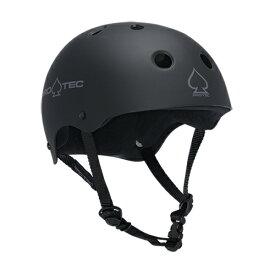 プロテック ヘルメット PRO-TEC HELMET CLASSIC SKATE MATTE BLACK S/M/L/XL プロテクター パッド