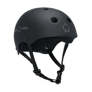 【プロテック ヘルメット】PRO-TEC HELMET CLASSIC SKATE MATTE BLACK XS●プロテクター パッド/キッズ・ガールズ
